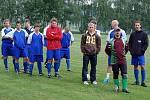 Z fotbalového memoriálu v Mířkově.