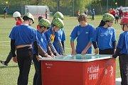 Okresní kolo soutěže mladých hasičů Plamen v Horšovském Týně