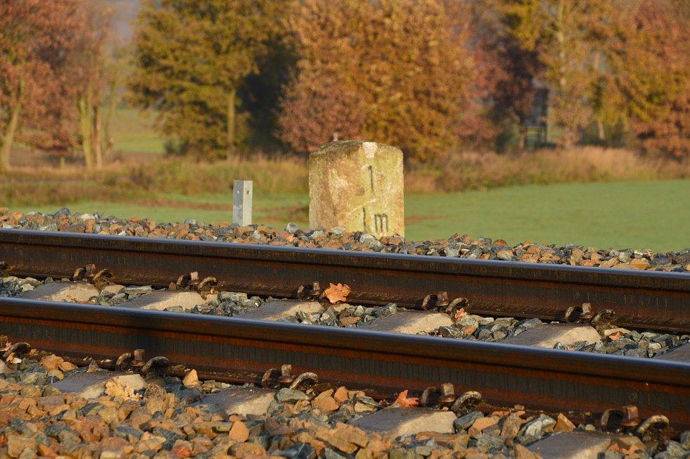 Nový železniční svršek.
