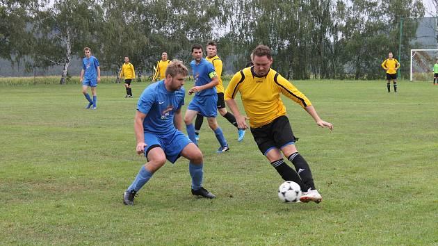 Okresní fotbal, ilustrační fotogalerie.
