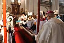 Zahájení sbírky se uskuteční v kostele Narození Panny Marie v Domažlicích.
