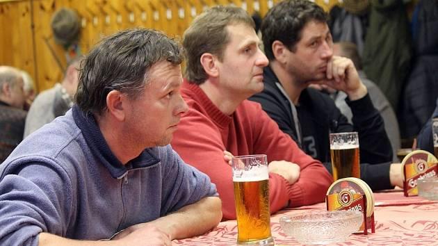 Výroční členská schůze fotbalového oddílu Slavoj Koloveč.