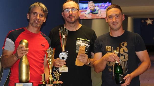Vyhlášení letní turnajové série O zlatou kuželku - Milan Obdržálek.