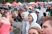 Páteční Chodrockfest v Domažlicích.