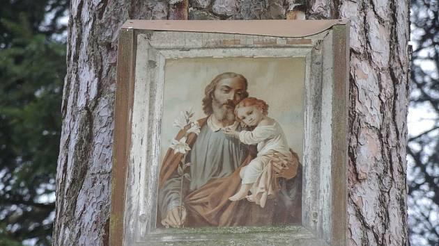 Obrázek sv. Josefa.