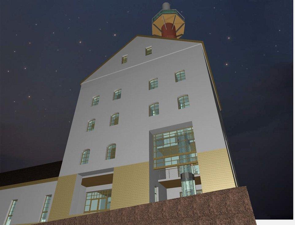 Studie pivovaru zpracovaná pro město Domažlice.