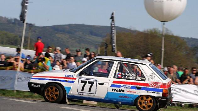 Václav Andrle - Jan Andrle (Škoda 136 L Favorit).