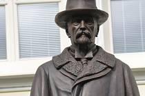 Pomník T. G. Masaryka.
