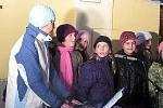 Společné zpívání koled v Bělé nad Radbuzou