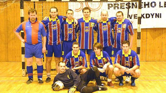 Futsalisté Bomber Domažlice.