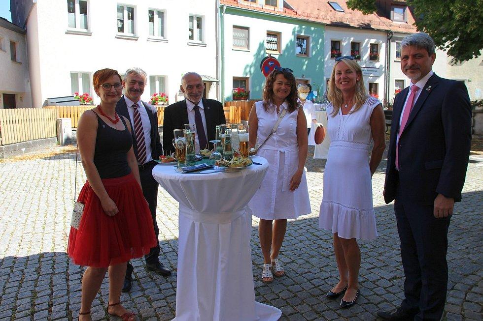 Otevření nové expozice o společné historii Domažlicka a Furthu im Wald. Foto: Karl Reitmeier