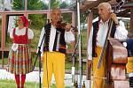 Z vystoupení Konrádyho dudácké muziky v seniorském penzionu v ulici Prokopa Velikého.
