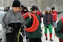 Ze zimního soustředění fotbalistů Rokycan v Žinkovech.