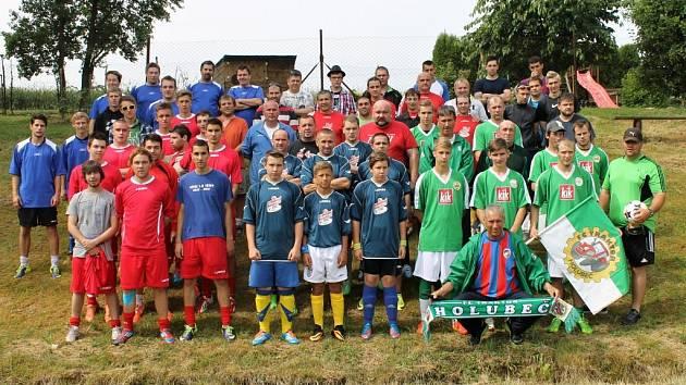 Třetí ročník turnaje v malé kopané v Holubči.
