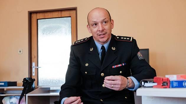 Petr Kuneš, nový šéf  Územního odboru Policie ČR v Domažlicích.
