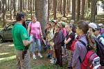 Z akce Poznej les, která se konala na Zelenově.