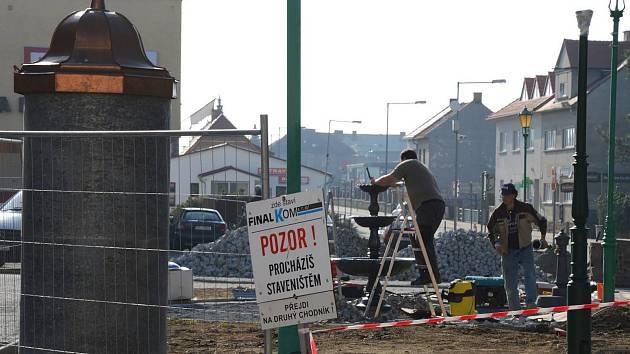 Firma během měsíce dokončí nezbytně nutné práce, k posezení a relaxaci bude nově pojmenovaný Nabburg park od 11. května.