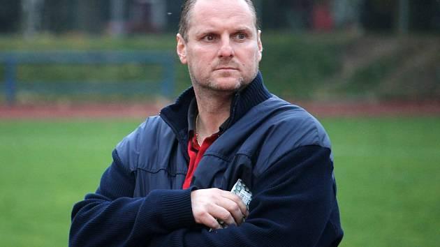 Trenér Radek Kronďák.