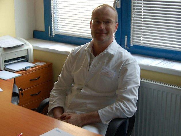 Michal Kravec, primář cirurgického oddělení Domažlické nemocnice.