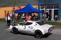HISTORIC VLTAVA RALLYE představí opět řadu atraktivních aut. Přihlášeny jsou i dvě Lancie Stratos (na snímku).