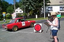 Pamětníci si jistě vzpomenou, že stímto autem kdysi startoval skvělý italský jezdec Sandro Munari na klatovské Rallye Vltava