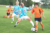 Fotbalisté divizního Kolovče smetli v předkole Ondrášovka Cupu suveréna krajského přeboru z Chrástu.