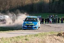 Ilustrační snímek z Rallye Šumava.