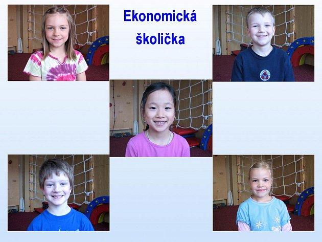 Ekonomická školička: tentokrát odpovídaly děti z MŠ Palackého v Domažlicích.