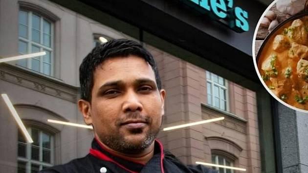 Kuchař Rangan Wimalasooriya.