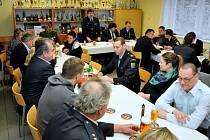 Valná hromada dobrovolných hasičů v Holýšově.