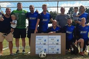 Snímky z premiérového ročníku Soccer Cupu, turnaje v malé kopané.