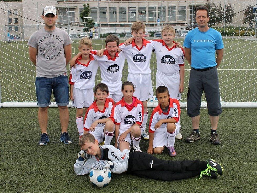 Kvalifikační turnaj starších přípravek FC Dynamo H. Týn, Spartak Klenčí, Sokol Mrákov a Jiskry Domažlice na Střelnici.