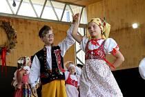 Na hyjtu přijely i soubory z Německa nebo Chorvatska. A nechyběly i tradiční Chodské soubory.
