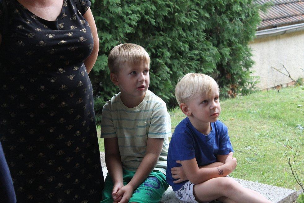 Pasování předškoláků a otevření hřiště.