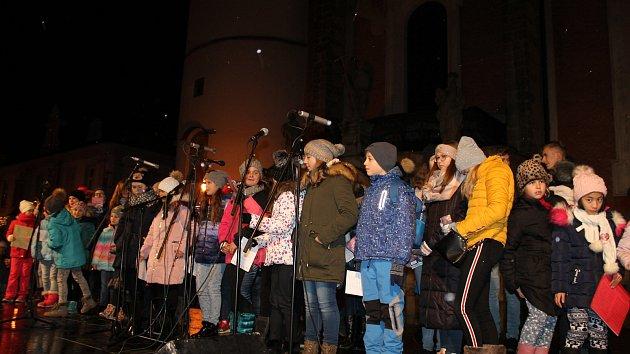 Česko zpívá koledy na Domažlicku
