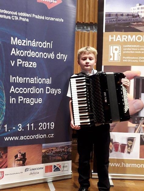 ZMezinárodní akordeonové soutěže vPraze.
