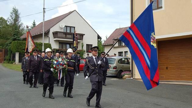 Oslava 110. výročí založení SDH Mrákov.