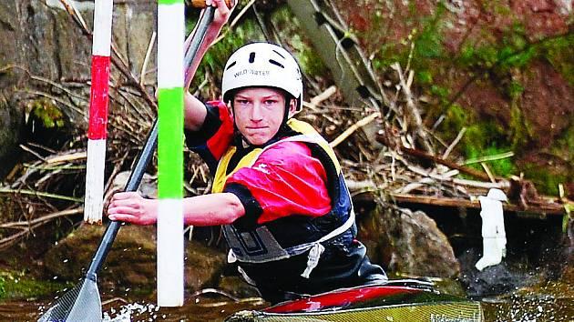Vodní slalom - Ilustrační snímek.