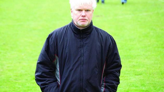 Fotbalový trenér Miroslav Moravec.