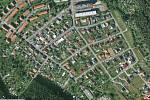 Letecký snímek Holýšova.