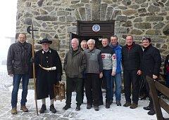 Zprava Sandro Bauer, Franz Löffler, Miroslav Mach, Markus Ackerman, Petr Matějka, Jan Kuželka, Jan Benda, Franz Prifling a Alois Frank.