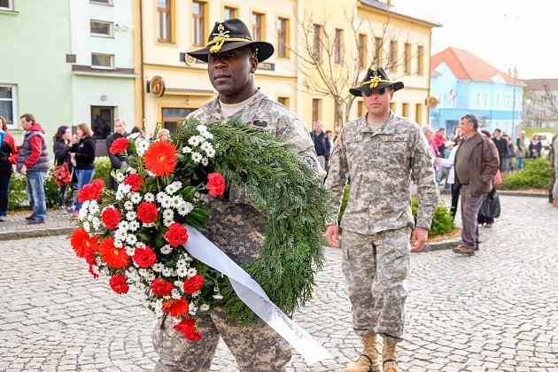 Oslavy osvobození v Bělé nad Radbuzou.