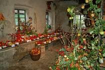 Výstava ovoce, zeleniny a květin ve Kdyni.