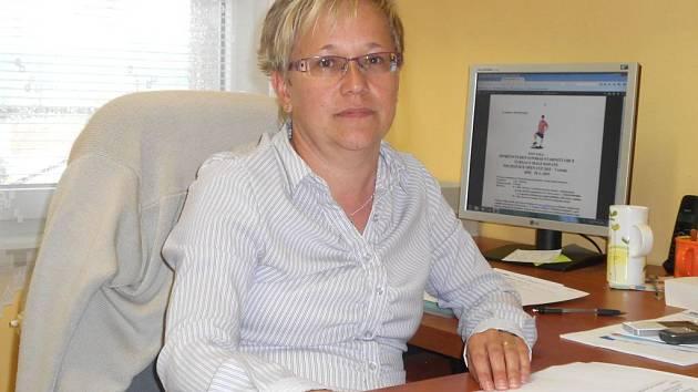 Marie Homolková, starostka Pocinovic.