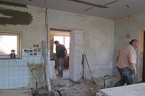 Rekonstrukce KD v Semněvicích.
