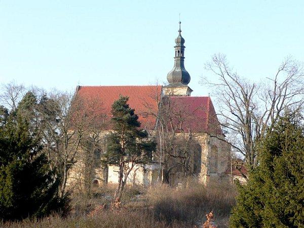 Kostel sv. Anny uHoršovského Týna.