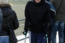 Fotbalista Jiskry Domažlice Josef Schamberger.