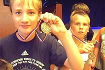 Medailová radost účastníků Generali Cupu.