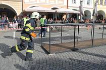 Ze třetího Mistrovství ČR dobrovolných hasičů v disciplínách TFA 2018.