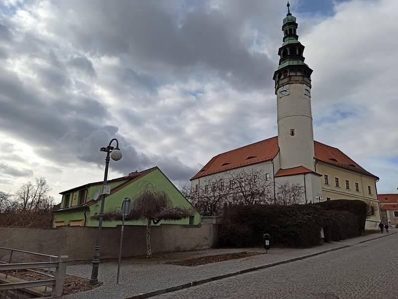 Chodský hrad v Domažlicích.